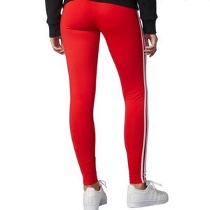 Discovery Red leggings